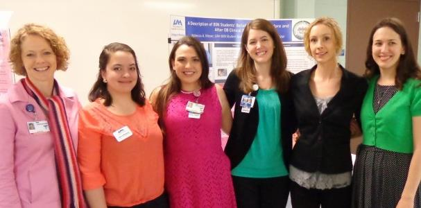 Bail, Hernandez, Taylor, Vazquez, Adams, and Meyer at STTI Beta Phi, UAH