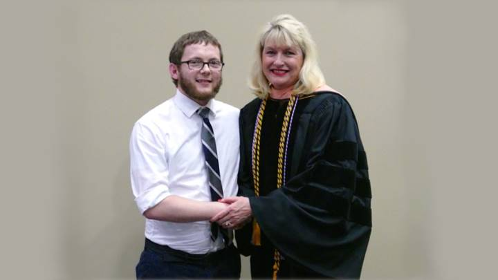 Kyle Ferguson:  Recipient of the General Academic Excellence Award.