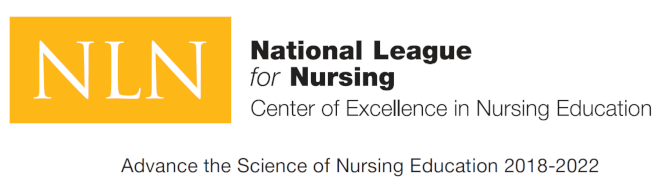 Awarded by the National League for Nursing, Center of Excellence in Nursing Education for 2018 to 2022