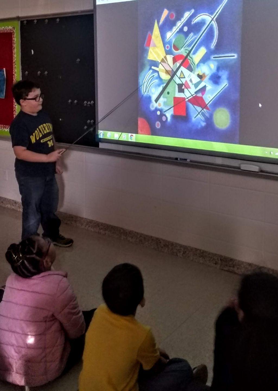 Kid Presentation Digital Design