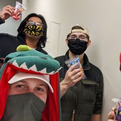 UAH honors students having safe fun on Halloween