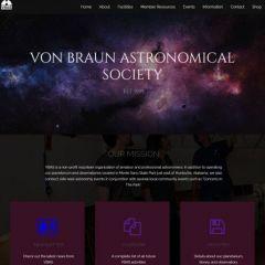Von Braun Astronomical Society webpage
