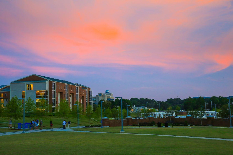 Greenway-sunset