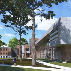 Opens an image of Morton Hall renovation