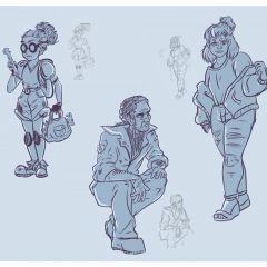Character Design Concepts | Elizabeth Berhow '19