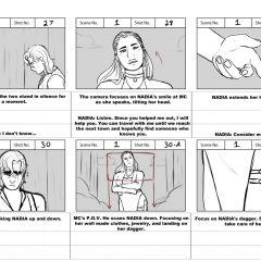 Aamnesiac Storyboard | Leah Owens '21