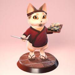 Cat Sushi Chef | Harleigh Bass '21