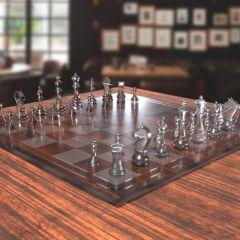 Glass Chess Set | Breanna Dotson '20
