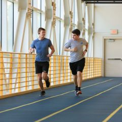 Working out in the University Fitness Center - Taran Naramore - Jasper, AL - Aerospace Engineering
