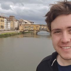 A UAH student visits Florence, Italy