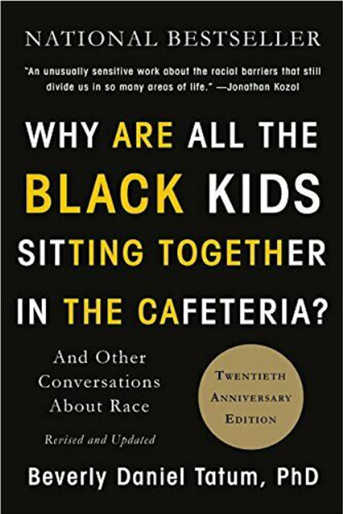 why are all the black kids sitting together book cover