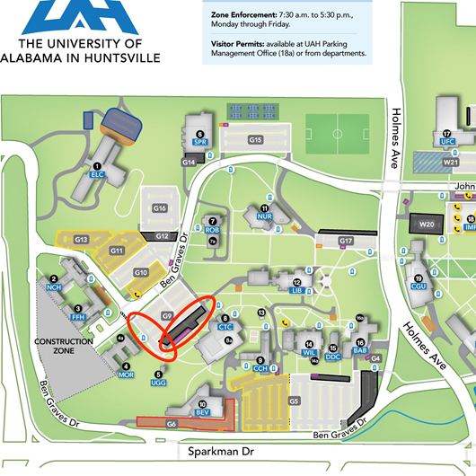 Morton Hall Parking Changes