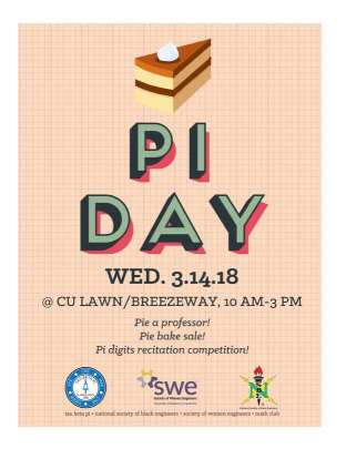 UAH Pi Day 2018