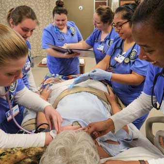 UAH College of Nursing Students