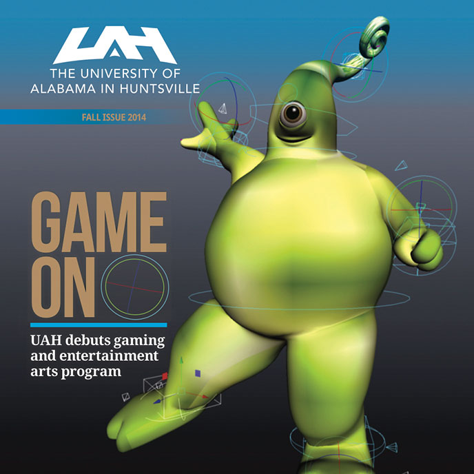 Check out the new Fall 2014 issue of the UAH Magazine