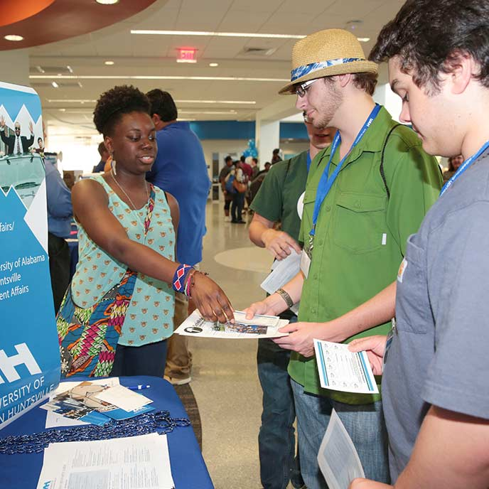 Attend our Open House and see why UAH is right for you!