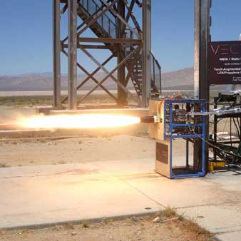 Testing of the spark-ignitor in the desert.