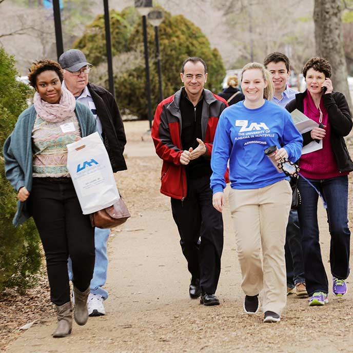 Have you been admitted to UAH? You don't want to miss Admitted Student Day on Monday, February 16th! Register Now!