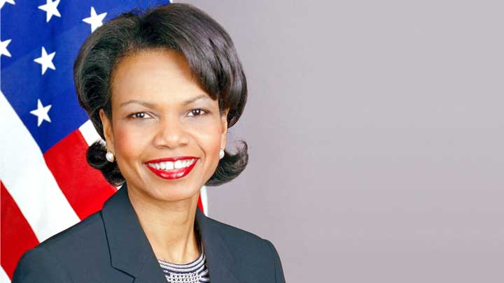 UAH Office of Diversity co-sponsors visit by former  U.S. Secretary of State Condoleezza Rice