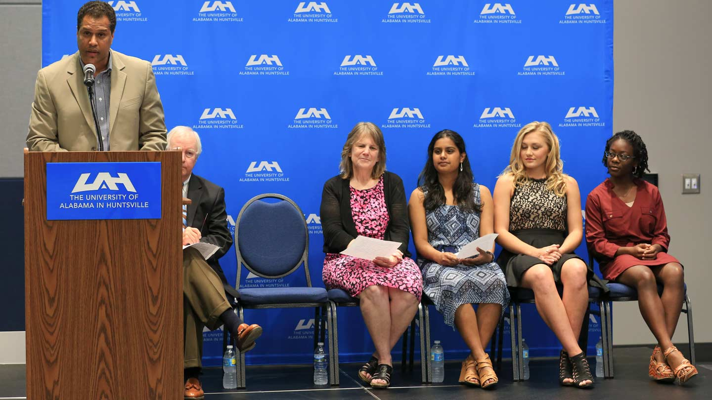 David Fernandes, Dr. Robert Altenkirch, Dr. Rhonda Gaede, Aditi Limaye, Macie Holder, and Zerahiah Joseph