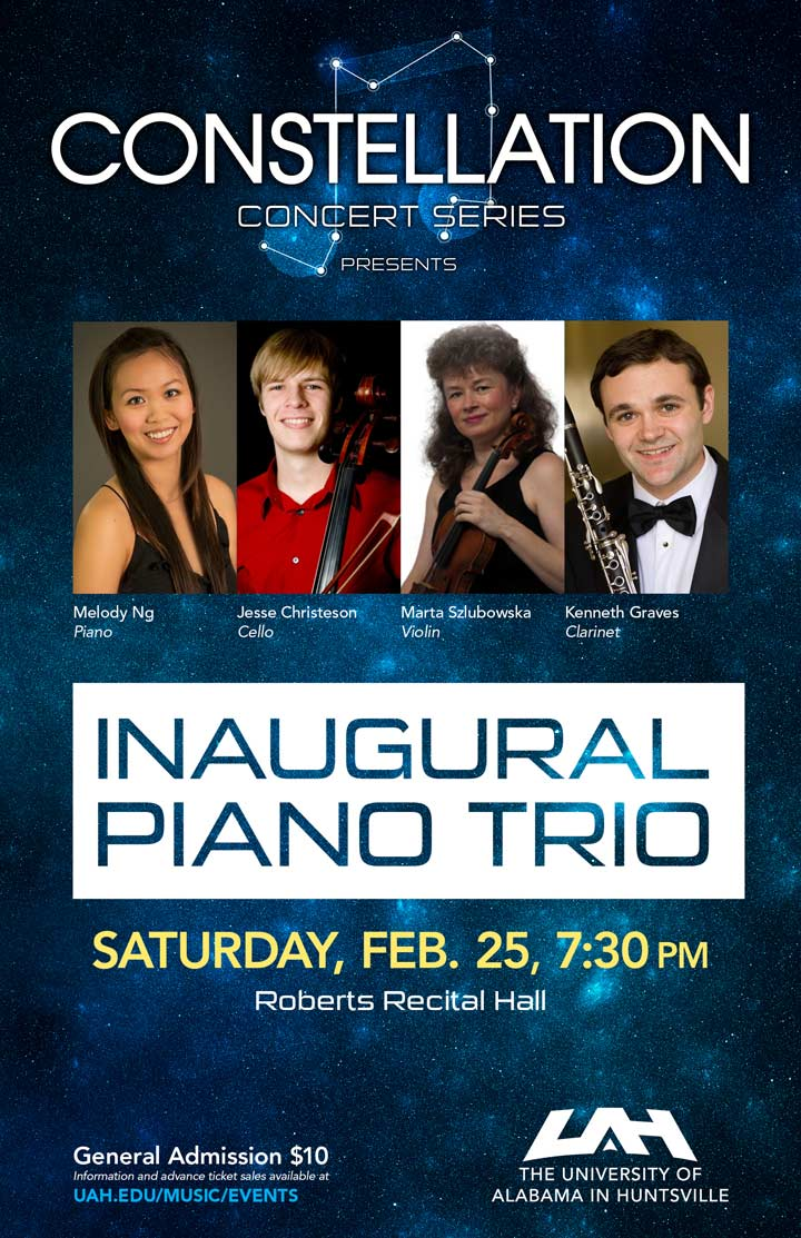 "Constellation concert series presents ""inaugural piano trio"""