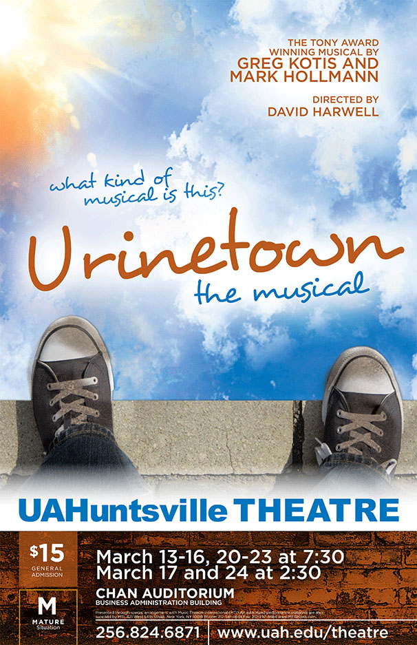 What kind of musical is this? Urinetown the musical