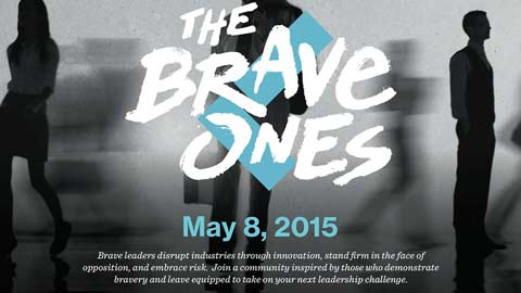 UAH Alumni Association Hosts Leadercast® 2015: Are You Brave?
