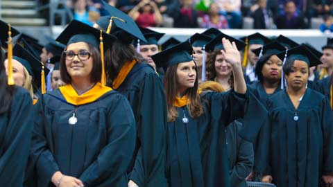 UAH Fall 2014 Commencement