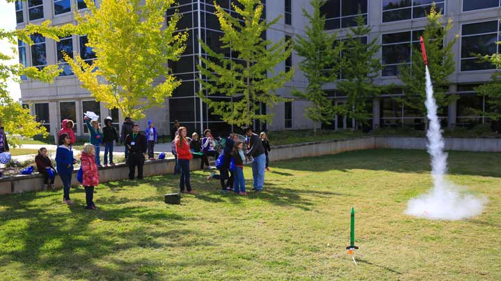 Girls Science and Engineering Day was held on Saturday, Nov. 1, 2014, on the UAH campus.
