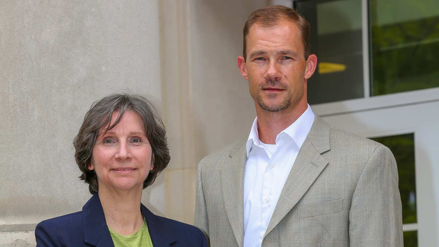Dr. Eric Smith and Deborah Nelson