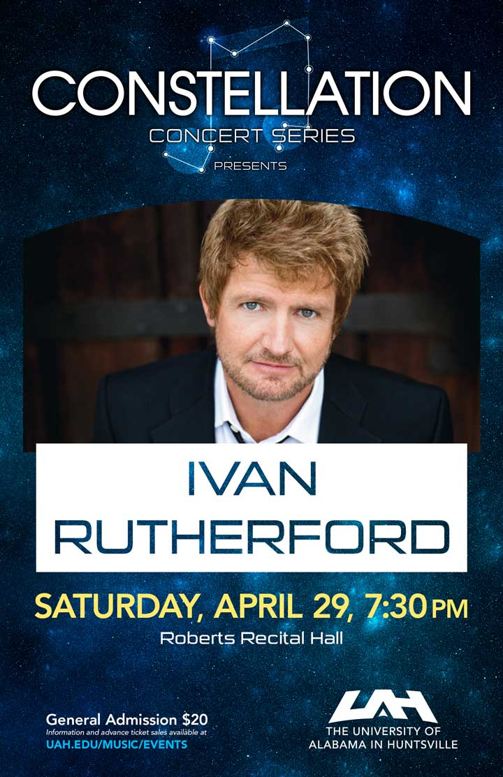 An Evening with Broadway Star Ivan Rutherford poster