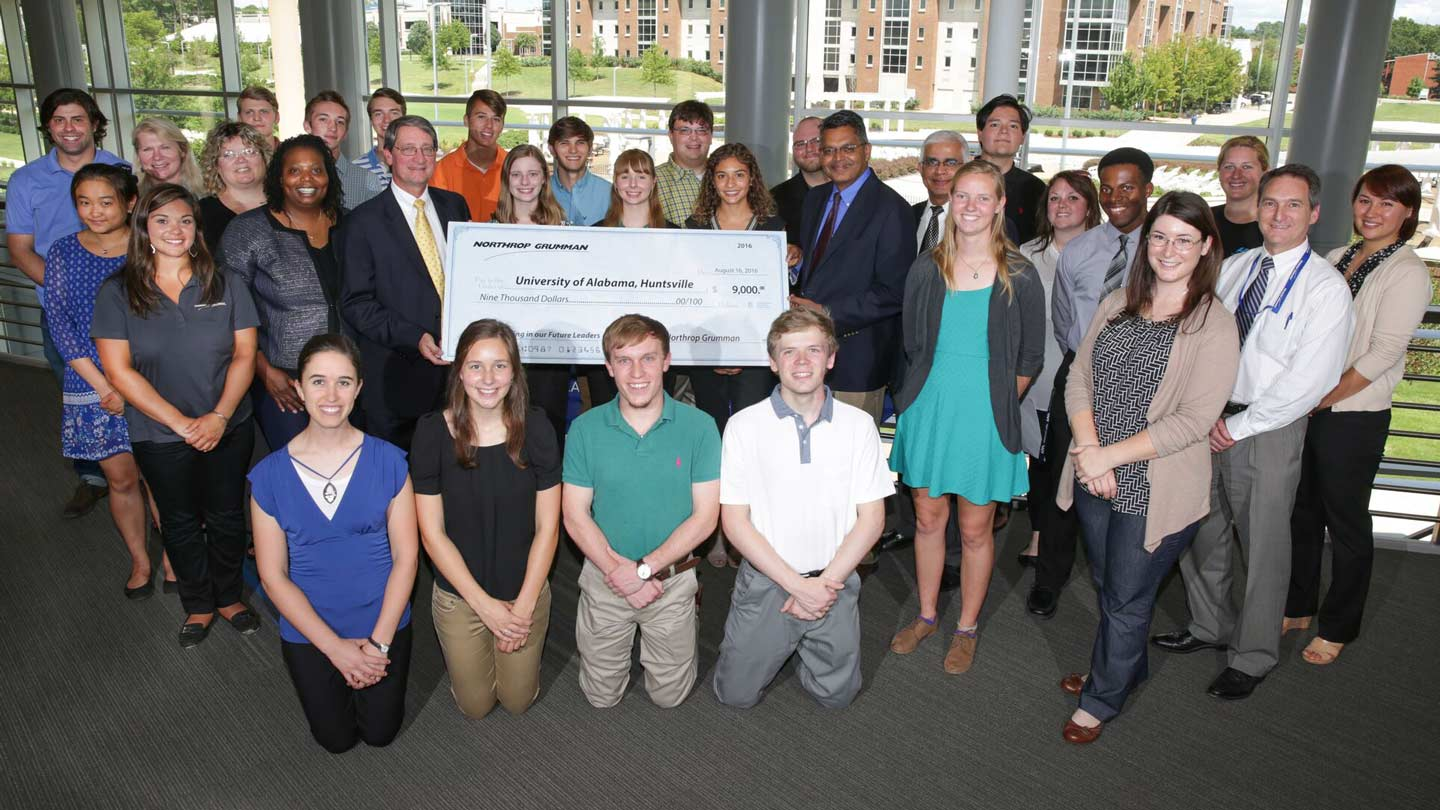 Northrop Grumman mentorship program for UAH students