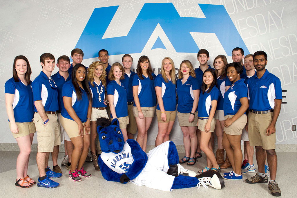 UAH Orientation Leaders