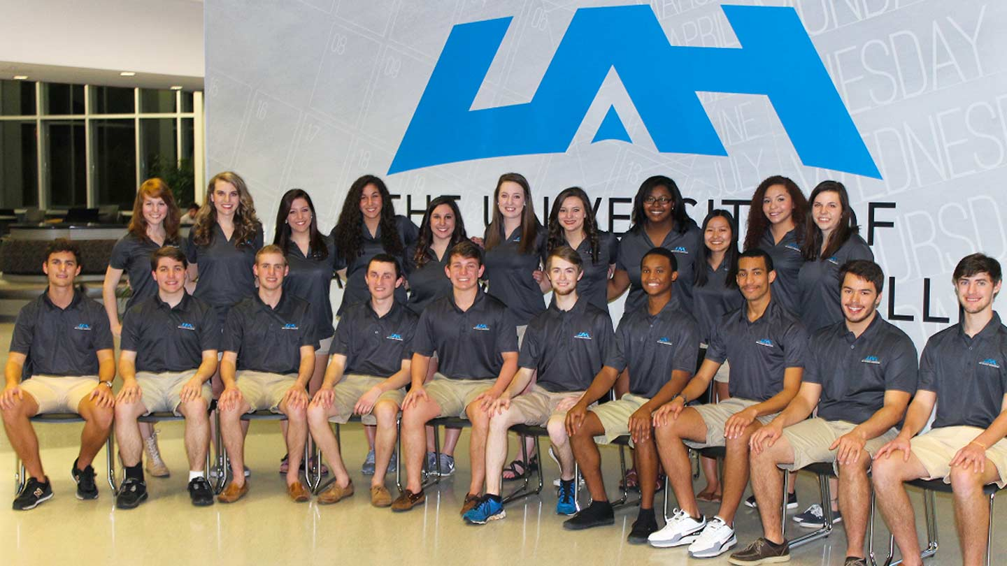 UAH's Orientation Leaders ease transition to life on campus