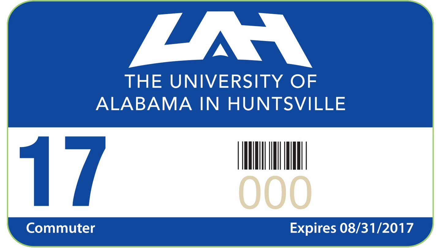 UAH 17 commuter expires 08/31/2017