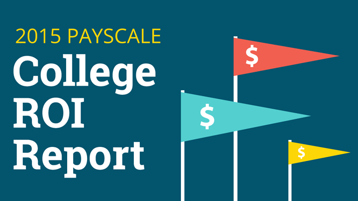 PayScale 2015 College ROI