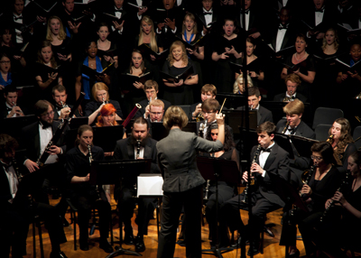 U.S. Army Materiel Command (AMC) and Wind Ensemble and Concert Choir