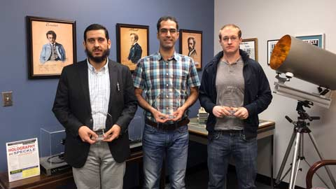 UAH graduate students win big at 2015 Science & Technology Open House
