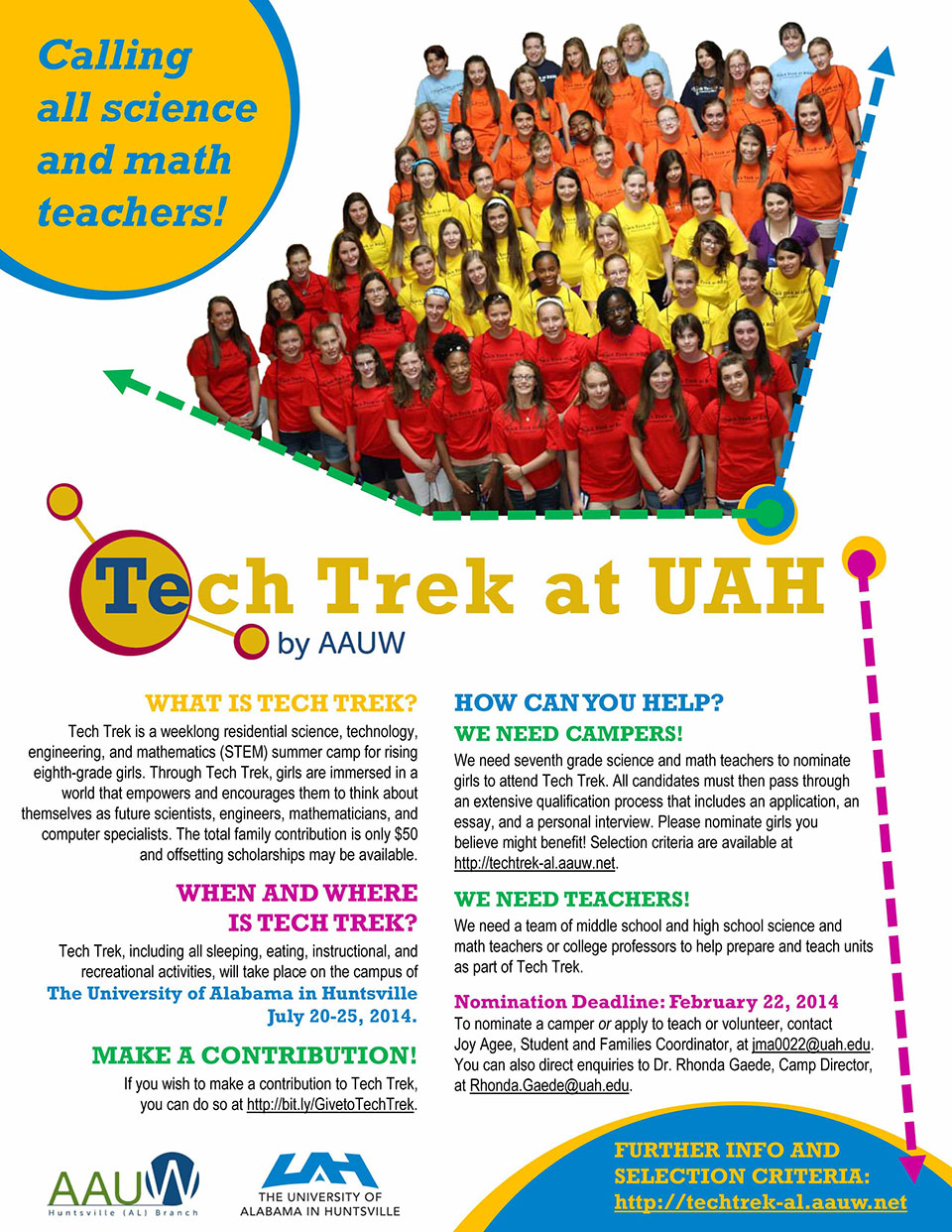 Tech Trek Flyer