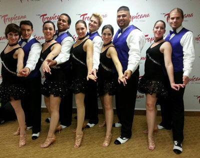 Members of the UAH Salsa Club who performed at the Las Vegas Salsa Congress.