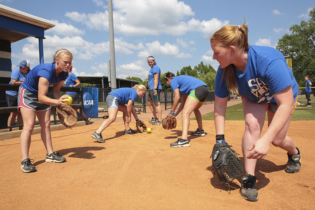 UAH Chargers Softball