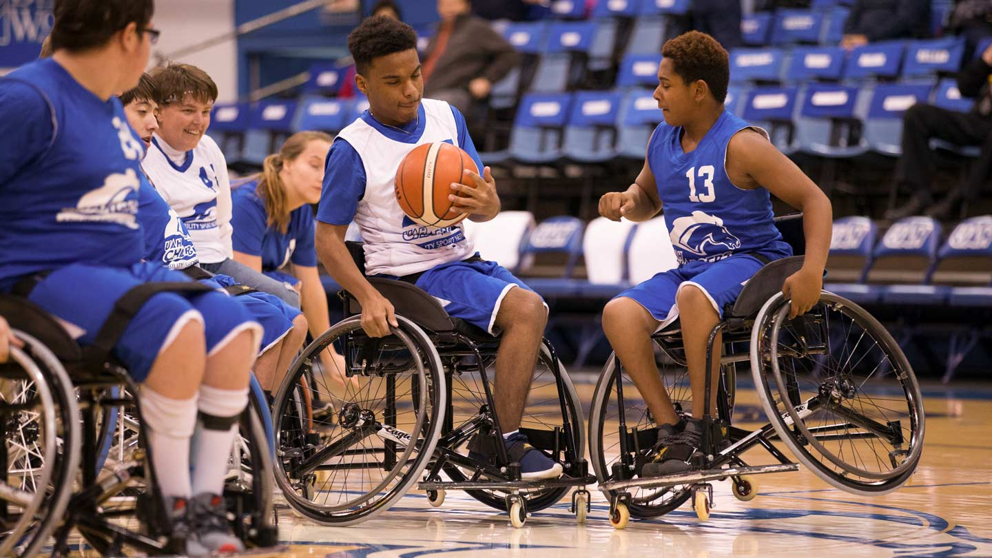 Abil.ity Sport Network wheelchair basketball team