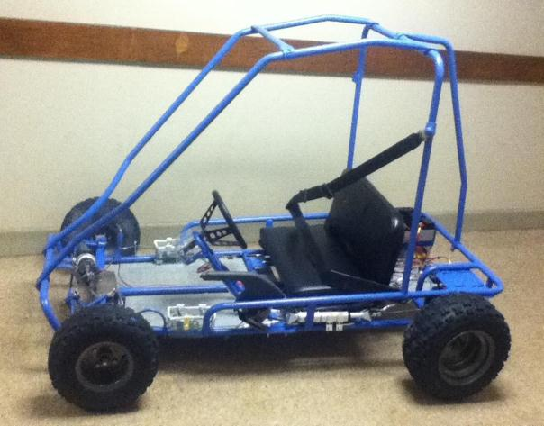 a wireless buggy