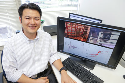 Dr. Ying-Cheng Lin, an Assistant Professor of Structural Engineering in UAH's College of Engineering, studies the behavior, seismic performance-based design, and reliability of steel structures.