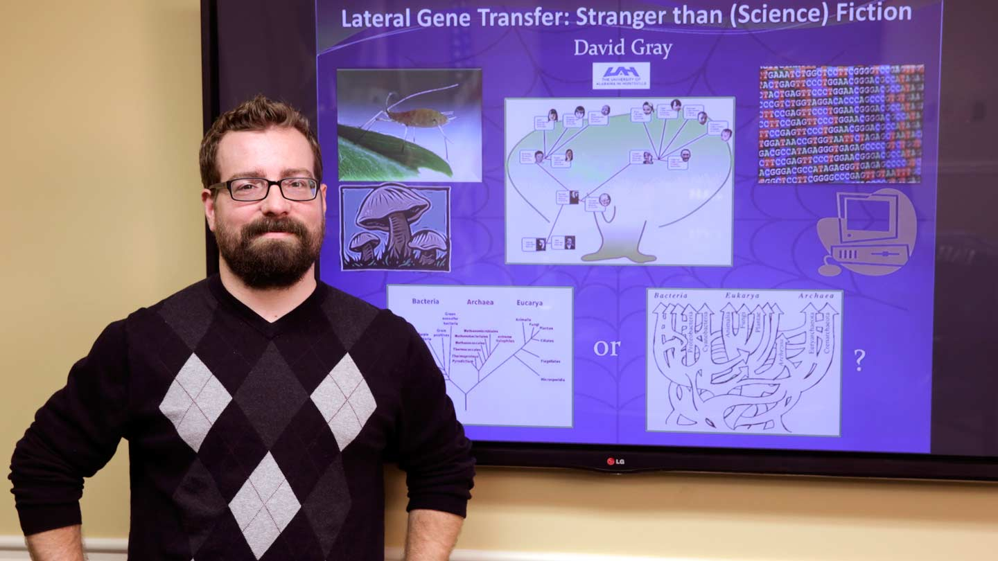 UAH graduate student wins Three Minute Thesis competition with some help from Spider-Man