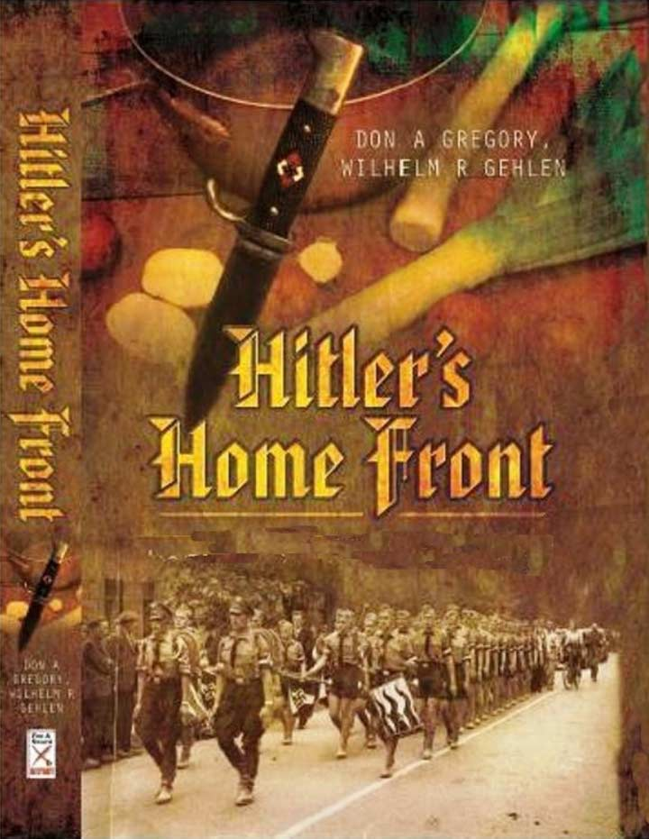 Hitler's Homefront book cover
