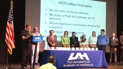 HOTCoffee celebrates 24 at Innovation Leadership Awards