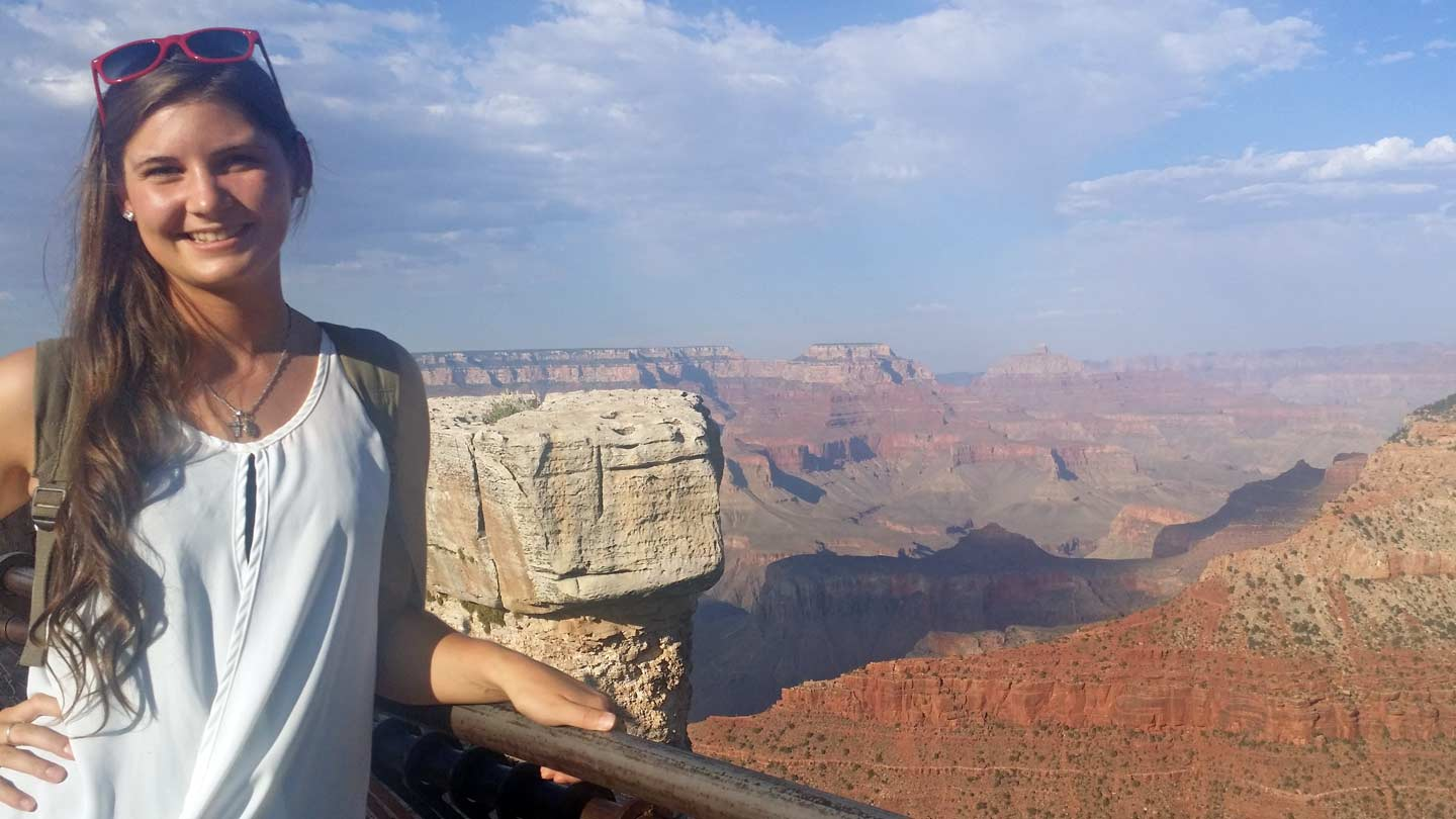 Kari Potter at Grand Canyon