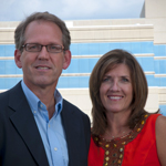 Chris E. Orr and his wife Shannon Orr