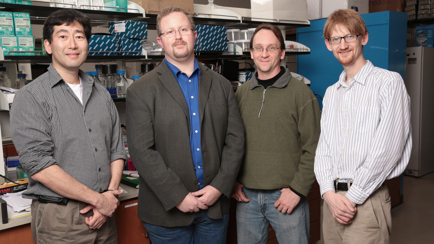 Dr. Joseph Ng, Dr. Luciano Matzkin, Dr. Leland Cseke, and Dr. Eric Mendenhall have all formed productive partnerships with the HudsonAlpha Institute for Biotechnology